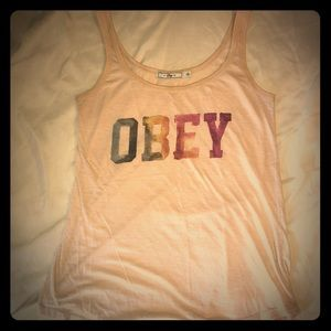 Obey Tops - Obey from The Buckle Tank